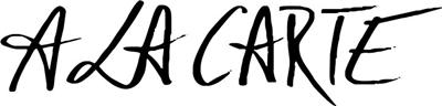 A la Carte - Logo