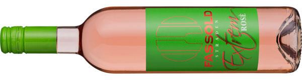 Extrem Rosé - Flasche horizontal