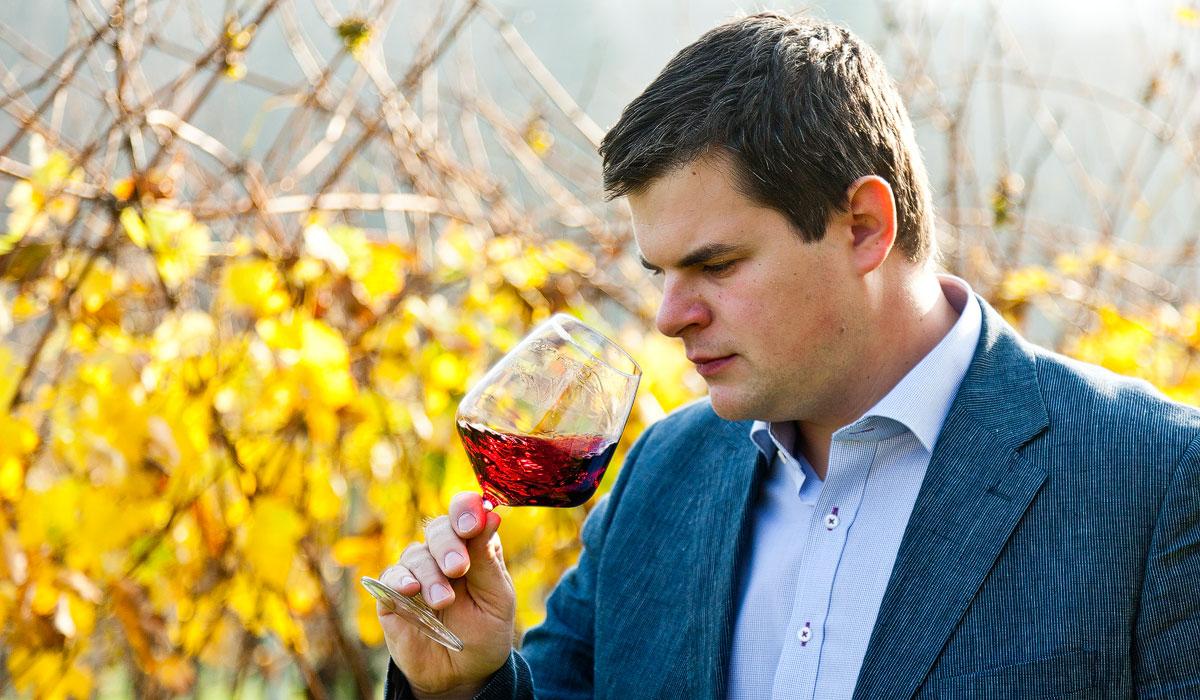 FASSzinierende Weine - Bernhard im Weingarten