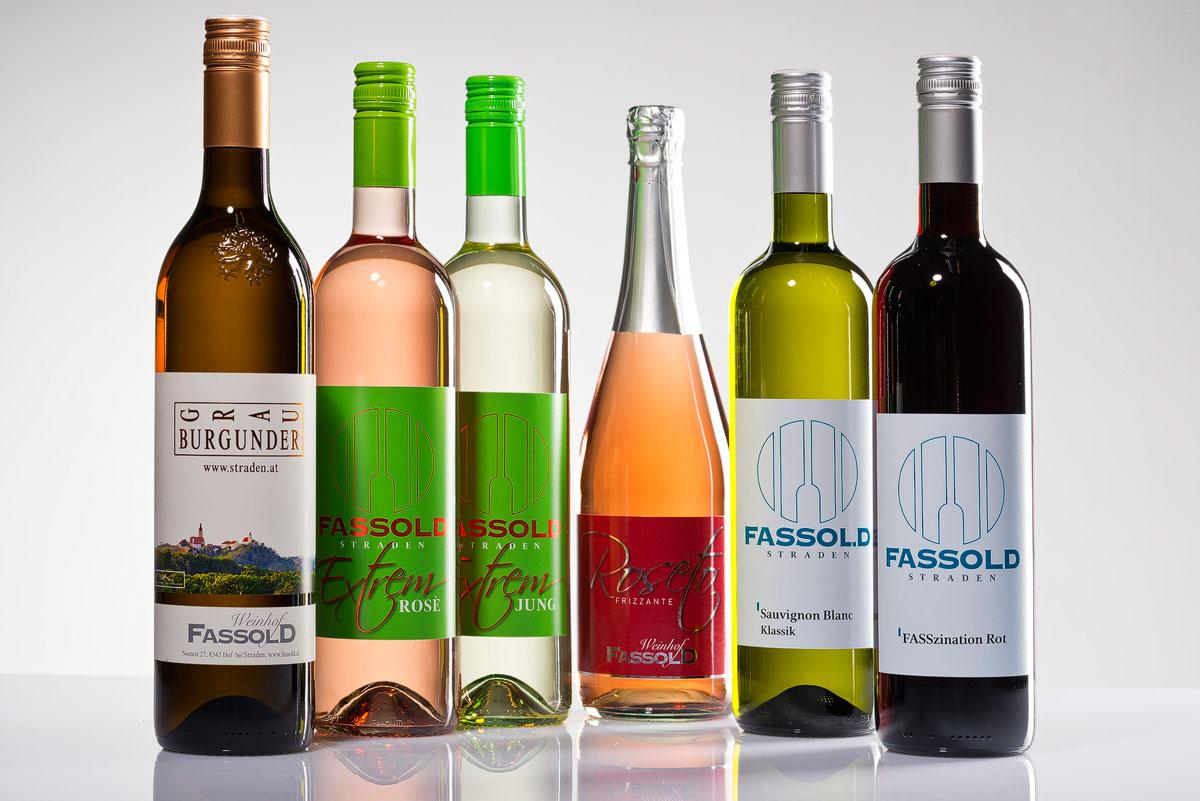 FASSzinierende Weine - Weinflaschen