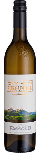 Stradener Grauburgunder Selektion - Flasche
