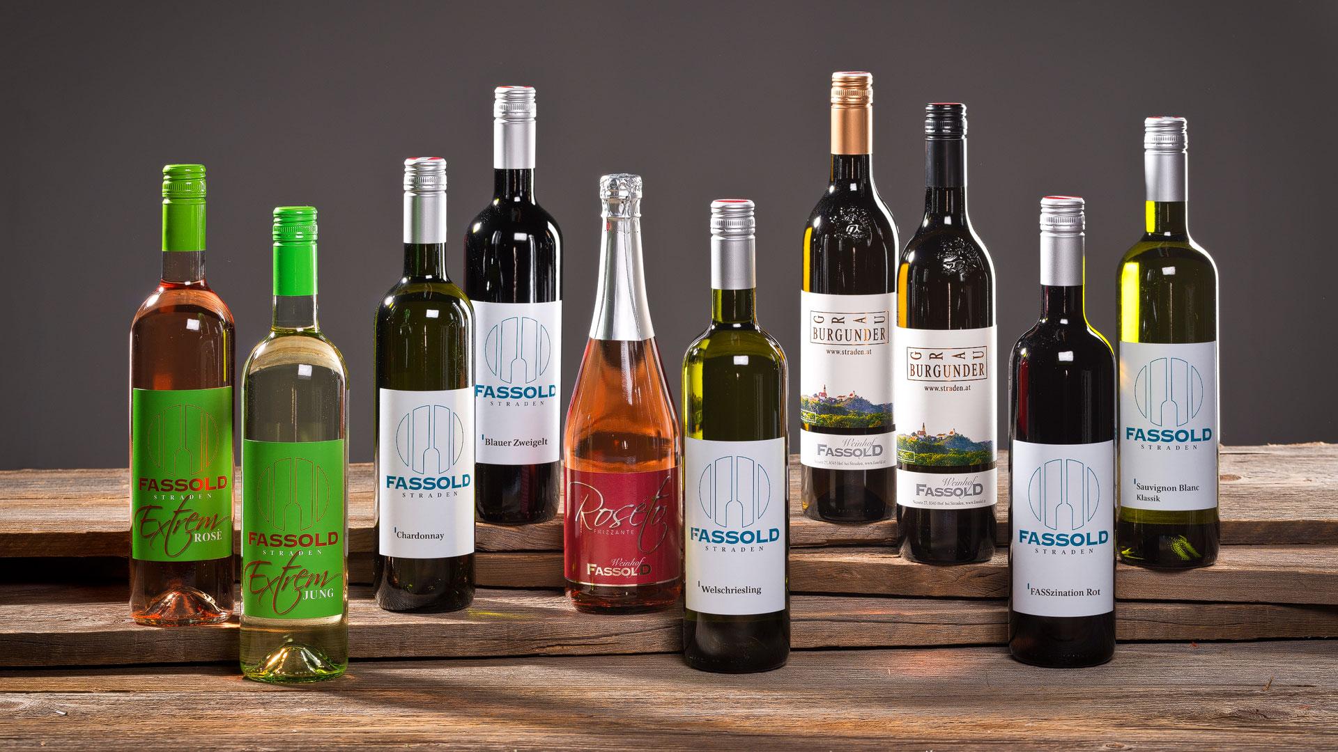 Titelbild Nr. 1 - Weinflaschen