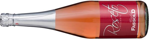Roséto Frizzante - Flasche horizontal