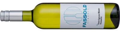 Sauvignon Blanc Neusetz - Flasche horizontal